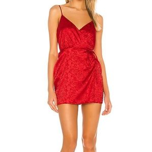 Superdown Lamiae dress L NWT
